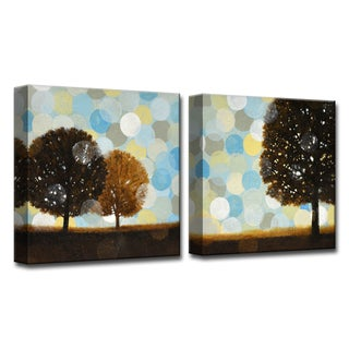 Ready2HangArt 'Early Tuesday Morning I/II' by Norman Wyatt, Jr 2 Piece Canvas Art Set