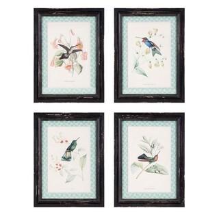 Hummingbird Wall Decor - Ast 4