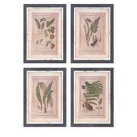 Botanical Print Wall Decor (Set of 4)