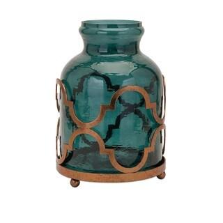 Marla Oversized Quadre Foil Vase