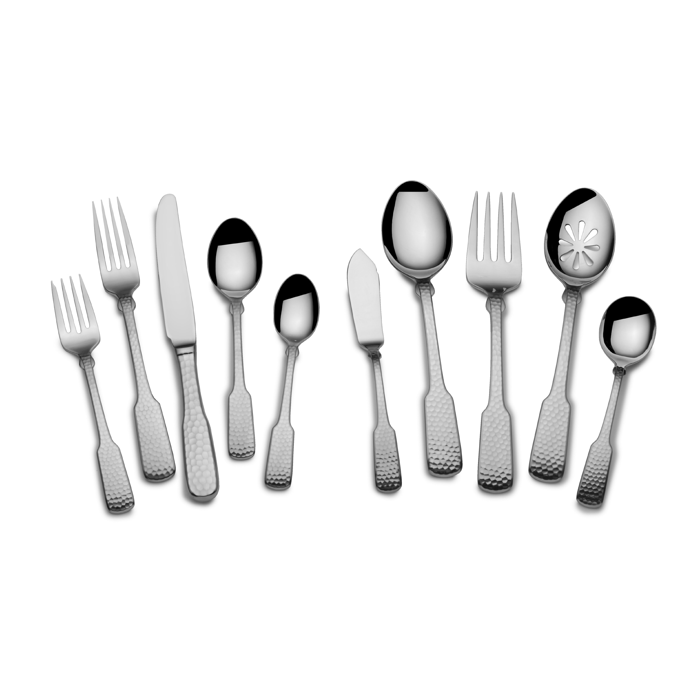 TOWLE Hammersmith Stainless Steel Flatware (45-piece Set;...