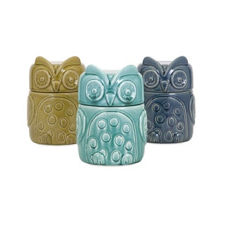 Bristol Owl Canisters - Ast 3