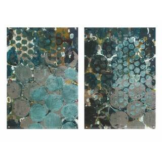 Callais Acrylic Floating Wall Art - Ast 2 - Multi-color
