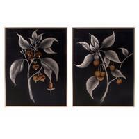 Ebina Framed Oil Paintings - Ast 2