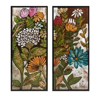 Claudette Framed Oil Paintings - Ast 2