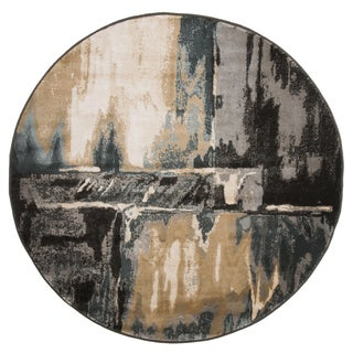 Windsor Home Opus Artfully Abstract Area Rug -5' Round