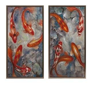 Karita Framed Oil Paintings - Ast 2