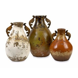 Martine Terracotta Jugs - Set of 3