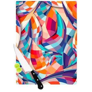 Kess InHouse Danny Ivan 'Versicolor' Cutting Board