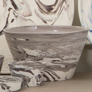 Richmond Porcelain Grey Serving Bowl (Set of 3)