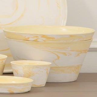 Yeloow Porcelain Richmond Serving Set
