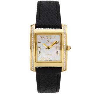 Croton Ladies CN207057YLMP Black Diamond Case Watch