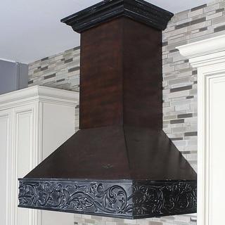 ZLINE Designer Series 373AW-36 36-inch Wooden Wall Mount Range Hood