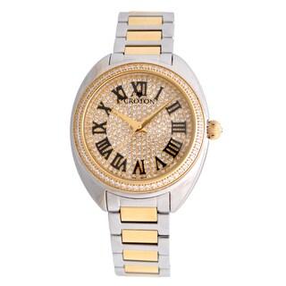Croton Ladies CN207564TTYL Stainless Twotone Swiss Quartz Watch