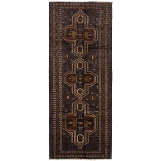 ecarpetgallery Hand-Knotted Teimani Blue Wool Rug (3'9 x 9'6)