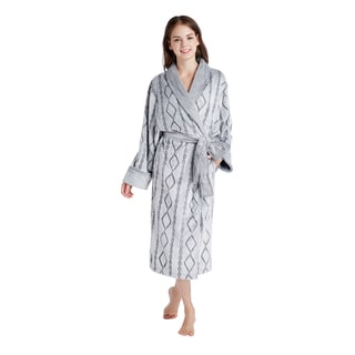 INK+IVY Cable 48-inch Mega Shawl Robe (Multiple Colors)