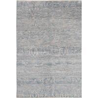 eCarpetGallery Ushak Blue Hand-knotted Wool/Cotton Rug (6' x 9')