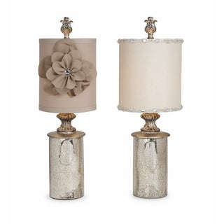 Loleeta Glass Mini Lamp - Set of 2