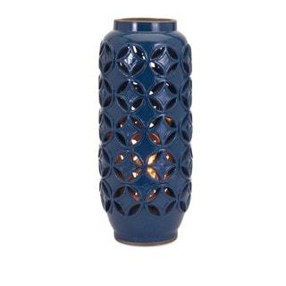 Sequence Cutout Ceramic Lamp