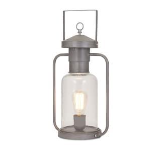 Newport Glass Lantern Table Lamp