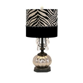 Jeanetta Glass Table Lamp
