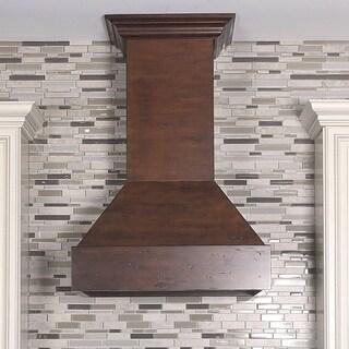 ZLINE 30 in. 900 CFM Designer Series Wooden Wall Mount Range Hood (355WH-30)