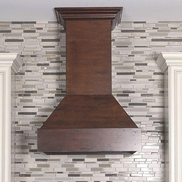 impactful wood wall mount range hood 19