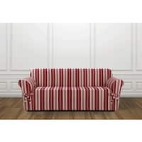 Sure Fit Hampton Stripe Sofa Slipcover