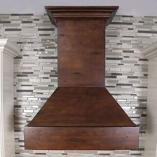 ZLINE Designer Series Wooden Wall Mount Range Hood (355VV-30)