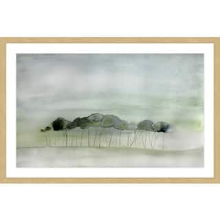 Marmont Hill - 'Quiet' by Christine Lindstrom Framed Painting Print|https://ak1.ostkcdn.com/images/products/13141103/P19869319.jpg?impolicy=medium