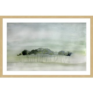 Marmont Hill - 'Quiet' by Christine Lindstrom Framed Painting Print
