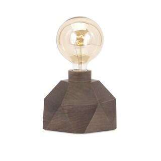 VelociTrisha Yearwood Wood Table Lamp with Edison Bulb