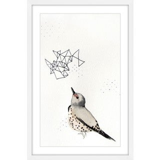 Marmont Hill - 'Northern Flicker' by Christine Lindstrom Framed Painting Print