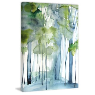Marmont Hill - 'New Growth' by Christine Lindstrom Painting Print on Wrapped Canvas