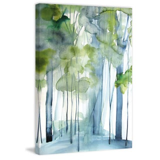 Marmont Hill - 'New Growth' by Christine Lindstrom Painting Print on Wrapped Canvas - Multi-color