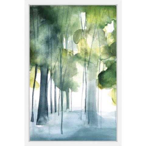 Marmont Hill - Handmade Green Grove Framed Print