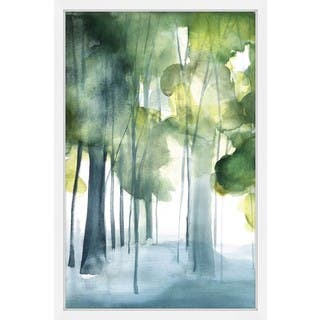 Marmont Hill - 'Green Grove' by Christine Lindstrom Framed Painting Print