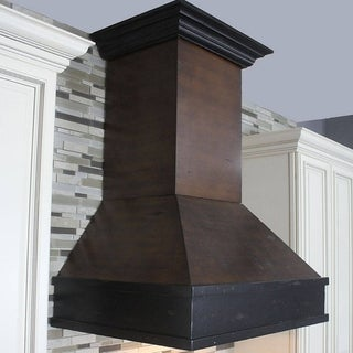 ZLINE 30 in. 900 CFM Designer Series Wooden Wall Mount Range Hood (329AH-30)