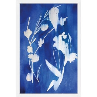 Marmont Hill - 'Cyanotype' by Christine Lindstrom Framed Painting Print