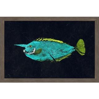 Marmont Hill - 'Mu Mu' by Warren Sellers Framed Painting Print