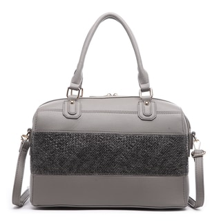 Pink Haley Annbel Satchel Handbag