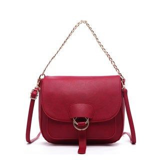 Pink Haley Janessa Chain Crossbody Bag