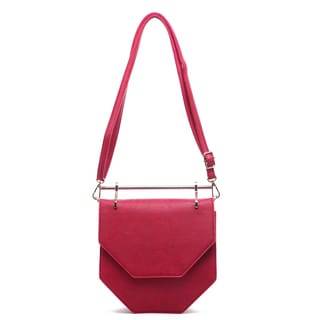 Haley Hester Pink, Gold Hardware Crossbody Bag
