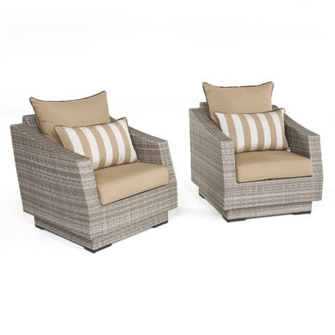 Cannes Club Chairs Maxim Beige by RST Brands