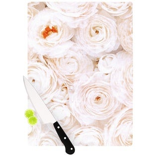Kess InHouse Heidi Jennings 'Blessed' Rose Cutting Board