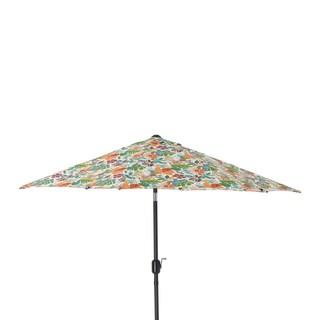 Pillow Perfect Lensing Jungle 9-foot Patio Market Umbrella