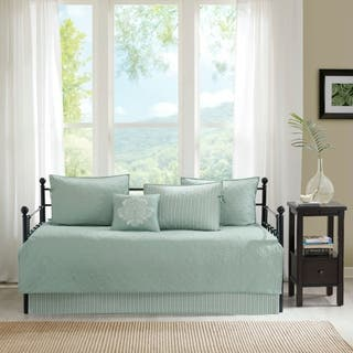 Madison Park Mansfield Seafoam Printed 6 Piece Day Bed Cover Set|https://ak1.ostkcdn.com/images/products/13141543/P19869806.jpg?impolicy=medium