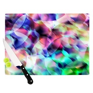 KESS InHouse Gabriela Fuente 'Party' Pastel Abstract Cutting Board