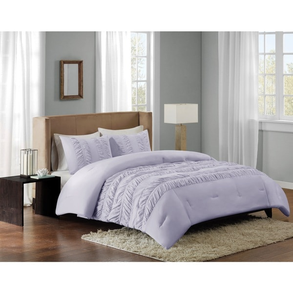 Madison Park Deanna Purple Comforter Mini Set