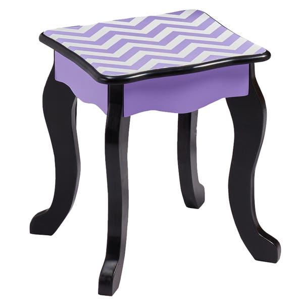 Fine Shop Teamson Kids Fashion Prints Chevron Purple Wooad And Ibusinesslaw Wood Chair Design Ideas Ibusinesslaworg